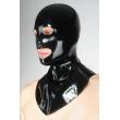 Latexová maska s otvory a límcem