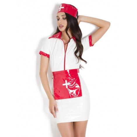 Laková uniforma sestřičky