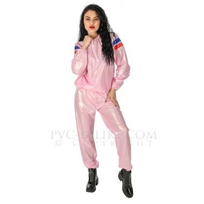 PVC Joggingová souprava Pink