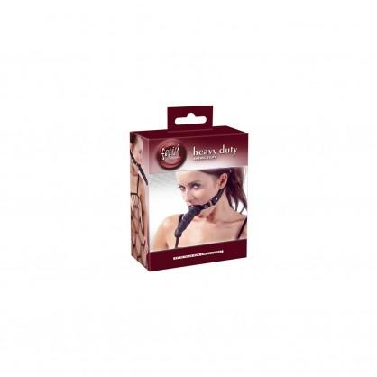 Roubík s dildem a nastavitelným páskem kolem hlavy