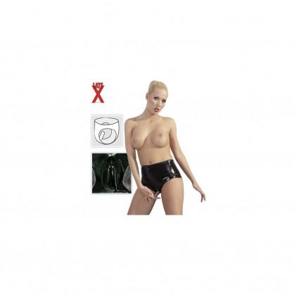 Latexové kalhotky Tera s latexovým kondomem