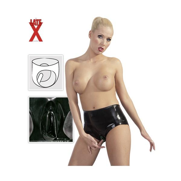 8ca94a531f2 Latexové kalhotky Tera s latexovým kondomem