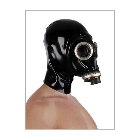 Latexová ruská GPA maska se zadním zipem