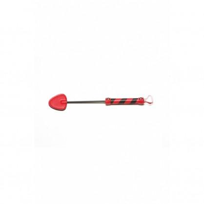 Kožená plácačka Red - 2033
