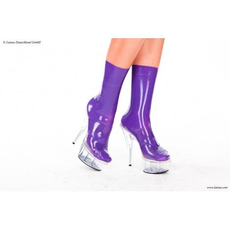 Latexové ponožky tvarované 116