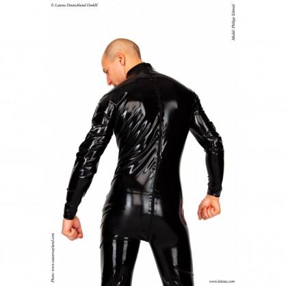 Latexový catsuit základní s třícestným zadním zipem