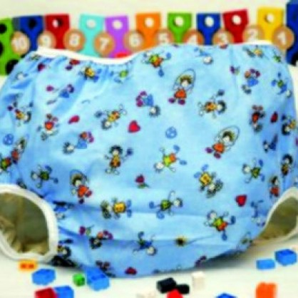 Bavlněné kalhotky s potisky panáčků pro velké děti