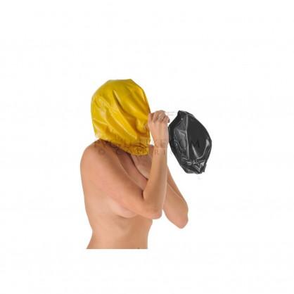 PVC dýchací vak připojitelný k PVC maskám s trubičkou