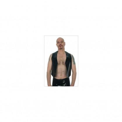 Latexová pánská vesta s kapsami Tom - 2200
