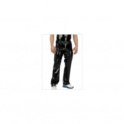 Latexové pánské joggingové kalhoty s pružným pasem