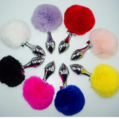 Anální kolík králíček v různých barvách