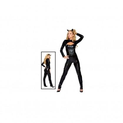 Dámský sexy catsuit zajíček (Wetlook)