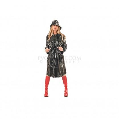 PVC dámský retro kabát v mnoha barevných provedení