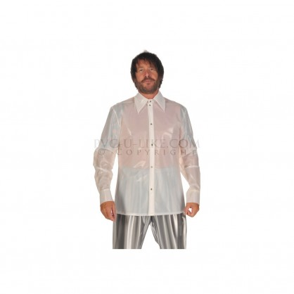 PVC pánská košile s dlouhým rukávem