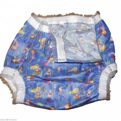 PVC plenkové kalhotky s pružným lemem na nohavicích