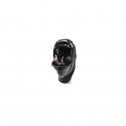 Latexová maska pro piss hrátky se zadním zipem