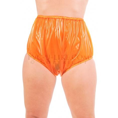 PVC dámské kalhotky s pevným lemem v pase a nohavičkách