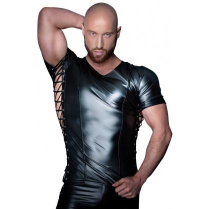 Pánské sexy triko s krátkým rukávem (Wetlook)