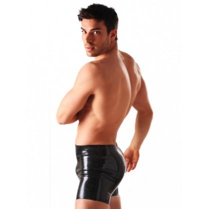 Latexové pánské boxerky bez zipu