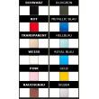 Latexové dámské luxusní legíny vyráběné v široké škále barev