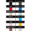 Dámský latexový catsuit se zipem v rozkroku v mnoha barevných variantách