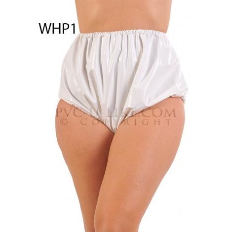PVC kalhotky s pružnými lemy v pase a nohavičkách